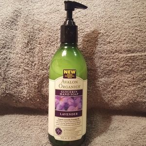 AVALON ORGANICS GLYCERIN HAND SOAP- 12 OZ.